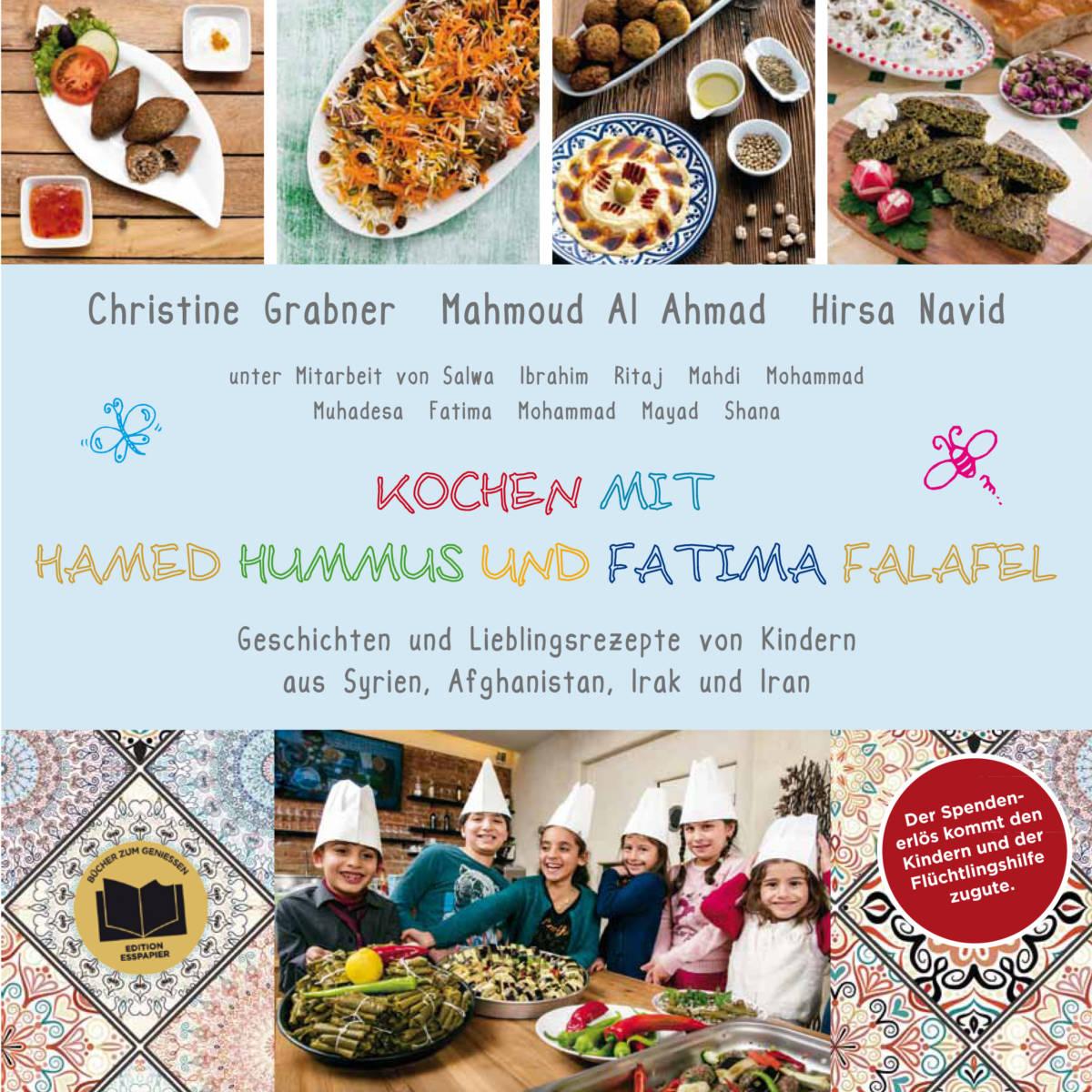 Kochen mit Hamed Hummus und Fatima Falafel