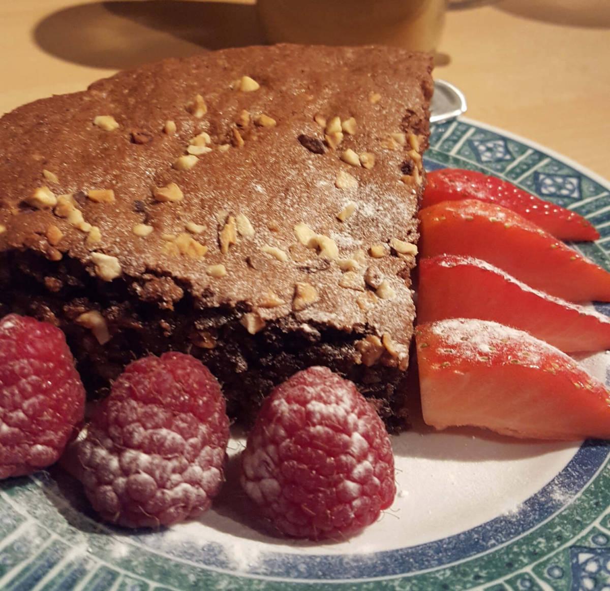 Paleo Hazelnut Chocolate Fudge