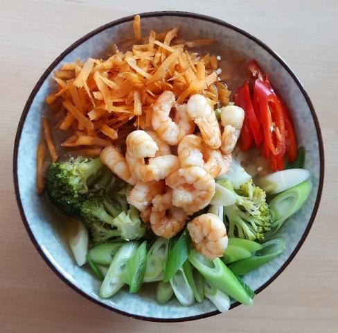 Shrimp Shirataki Ramen