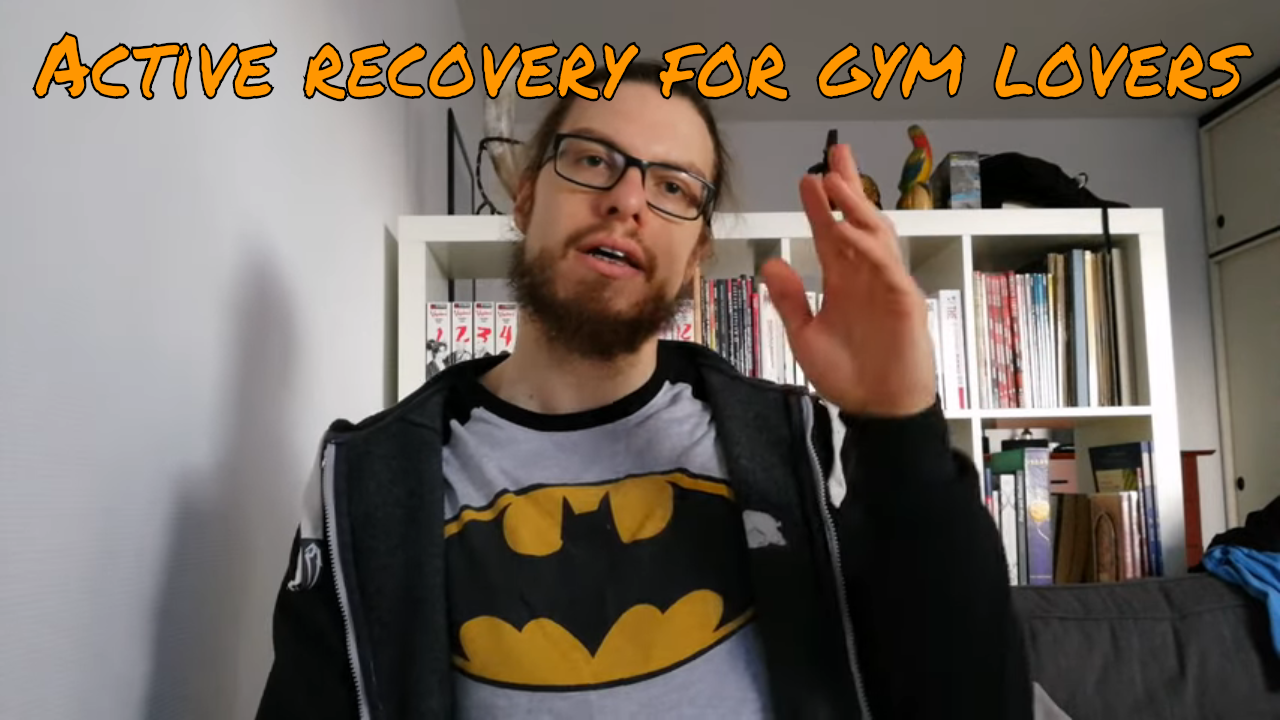 How to approach active recovery - Sauna & Hand-Lettering